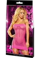 Spotlight Mini Dress-pink
