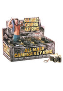 All Male Camera Keyring 24 Per Display