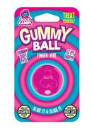 Rock Candy Gummy Ball Finger Vibe Splashproof  Pink